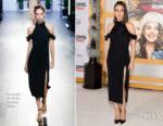 Mila Kunis In Cushnie et Ochs - 'A Bad Moms Christmas' LA Premiere