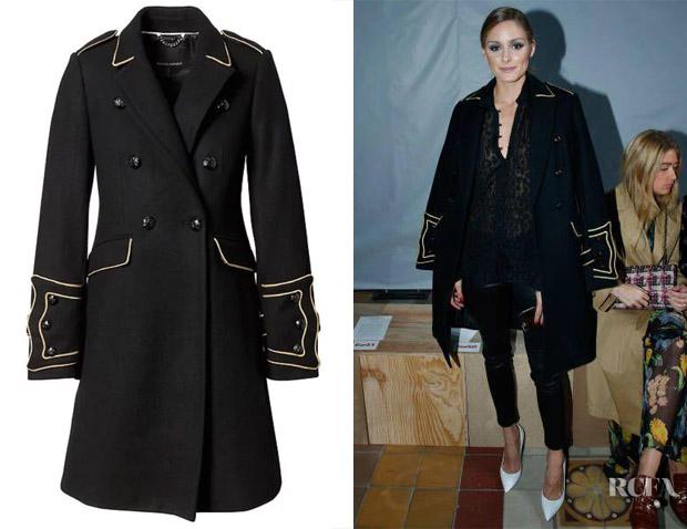 Olivia Palermo's Banana Republic x Olivia Palermo Military Coat