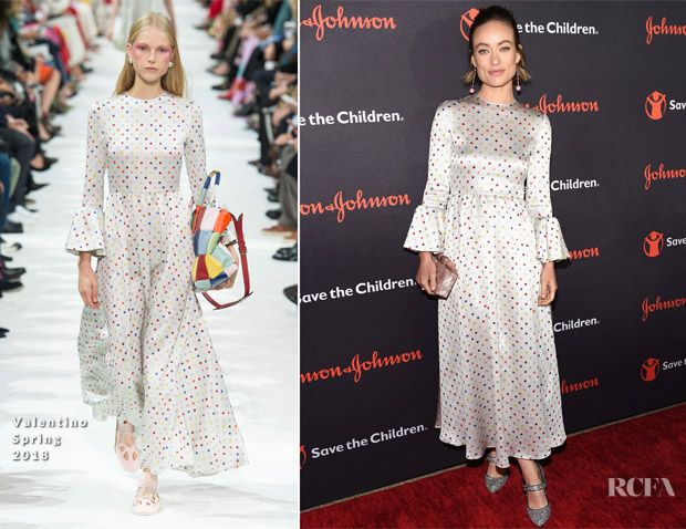 Olivia Wilde In Valentino - 5th Annual Save The Children Illumination Gala