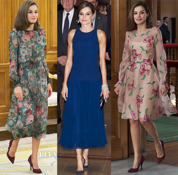eec56f2a15f65 If one thing is quite certain, Queen Letizia of Spain puts the regal in  royal style. Modern elegance pervades her every move, as she effortlessly  ...