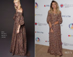 Paris Jackson In Zac Posen -mothers2mothers Event