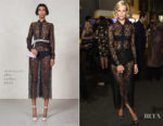 Poppy Delevingne In Alessandra Rich - Conde Nast Traveller 20th Anniversary Party