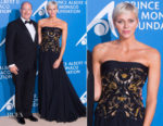 Princess Charlene of Monaco In Atelier Versace - 'Monte-Carlo Gala For The Global Ocean'