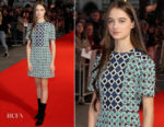 Raffey Cassidy In Burberry - 'Killing Of A Sacred Deer' London Film Festival Premiere