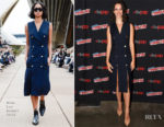 Rebecca Hall In Dion Lee - 2017 New York Comic Con