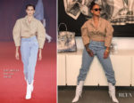 Rihanna is Instaglam in Off-White