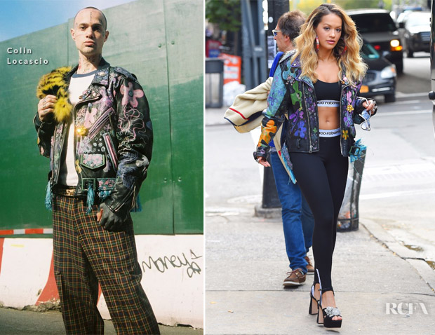 All The Looks From Rita Ora's 'Anywhere' Music Video Shoot ...