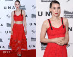 Rooney Mara In Alexander McQueen - 'UNA' New York Screening