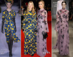 Rosamund Pike In Altuzarra & Laura Bailey In Erdem - 'Three Billboards Outside Ebbing, Missouri' London Film Festival Closing Ceremony Premiere