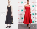 Rosamund Pike In Christian Dior & Christian Dior Couture - 'Hostiles' Rome Film Festival
