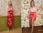 Rosie Huntington-Whiteley In Attico - Marks & Spencer 'Rosie for Autograph' 5th Anniversary Celebrations