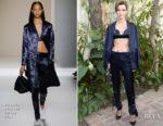 Ruby Rose In Victoria Beckham - CFDA/Vogue Fashion Fund Show