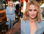 Shantel VanSanten In Elisabetta Franchi - Platt Boutique Jewelry And The Kit Vintage Opening Celebration