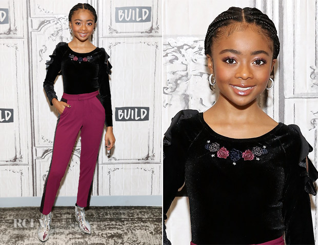 Skai Jackson In Nowadays - BuildSeries