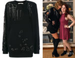 Taylor Swift's Amen Distressed Knitted Sweater
