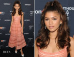 Zendaya Coleman In Elie Saab - 'Without A Net' NYFF Special Screening