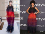 Zendaya Coleman In Schiaparelli Couture - 3rd Annual InStyle Awards