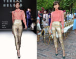 Zendaya Coleman In Teresa Helbig - CFDA/Vogue Fashion Fund Show