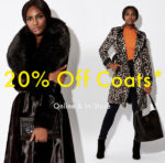 There's a chill in the air: Get 20% off Karen Millen coats