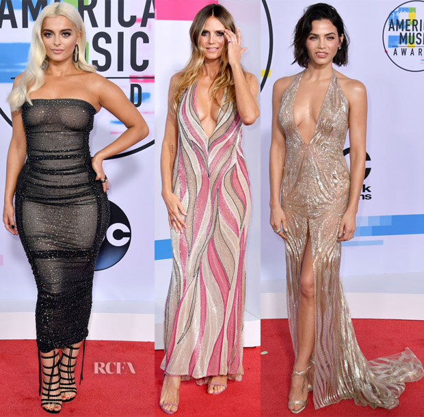 2017 American Music Awards Red Carpet Roundup