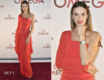 Alessandra Ambrosio In Antonio Berardi - OMEGA Aqua Terra Collection Celebration