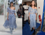 Alexa Chung In Preen - British Vogue's December Issue Dinner Party
