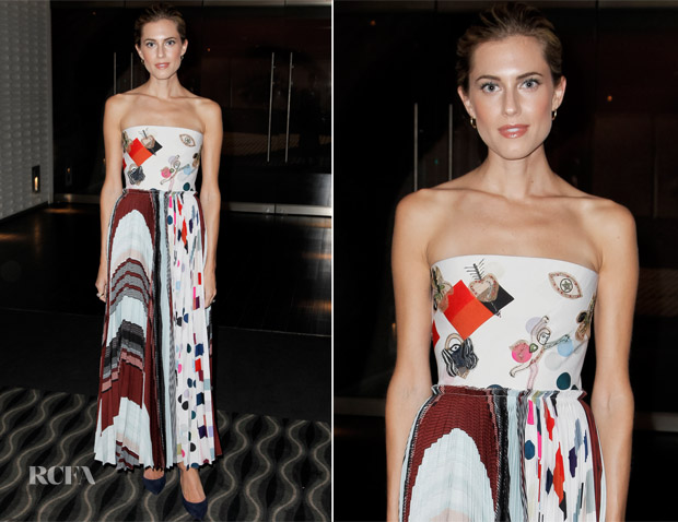 Allison Williams In Schiaparelli Couture - 'Get Out' LA Screening