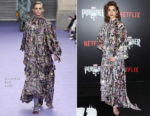 Amber Rose Revah In Mulberry - 'Marvel's The Punisher' New York Premiere