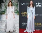 Angelina Jolie In Jenny Packham - 2017 Hollywood Film Awards