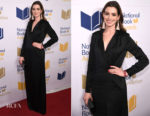 Anna Hathaway In Halston Heritage - 68th National Book Awards