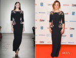 Anna Paquin In Pamella Roland - 2017 Canada's Walk of Fame