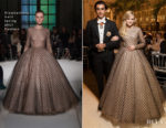 Ava Phillippe In Giambattista Valli Couture - Bal des Debutantes