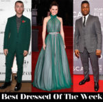 Best Dressed Of The Week - Daisy Ridley in Vivienne Westwood Couture, Sam Smith & John Boyega in Burberry