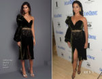 Camila Alves In Johanna Ortiz  - Ocean Drive Magazine Cover Launch Party