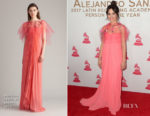Camila Cabello In Monique Lhuillier - The Latin Recording Academy's 2017 Person Of The Year Gala
