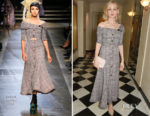 Carey Mulligan In Erdem - Harper's Bazaar Women Of The Year Awards 2017