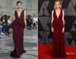 Carey Mulligan In Giambattista Valli Couture - 9th Annual Governors Awards