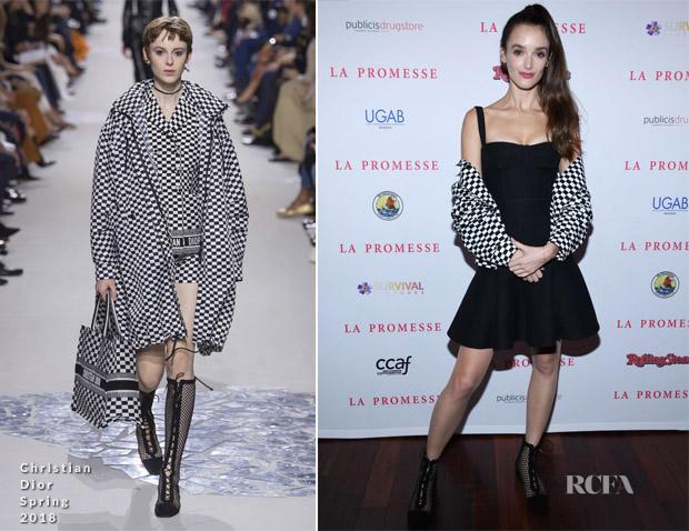 Charlotte Le Bon In Christian Dior - 'La Promesse' Paris Premiere