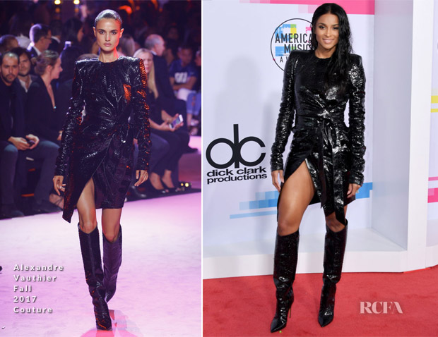Ciara In Alexandre Vauthier Couture - 2017 American Music Awards