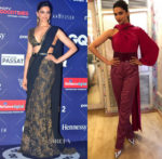 Deepika Padukone In Sabyasachi & Prabal Gurung - GQ Nights & BBC Talking Movies