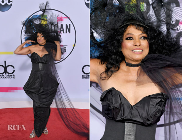 Diana Ross In Vivienne Westwood - 2017 American Music Awards