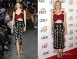 Diane Kruger In No. 21 & Givenchy - AFI FEST 2017 Filmmakers' Photocall  & 9th Annual Governors Awards