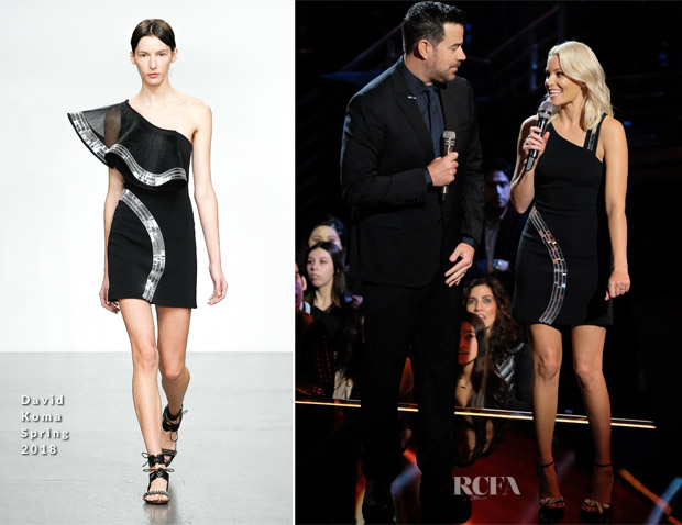 Elizabeth Banks In David Koma - The Voice