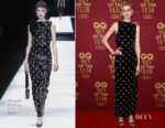 Elizabeth Debicki In Giorgio Armani - 2017 GQ Men Of The Year Awards