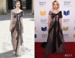 Emma Roberts In Ulyana Sergeenko Couture - 68th National Book Awards