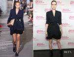 Evan Rachel Wood In 3.1 Phillip Lim -  Planned Parenthood Advocacy Project