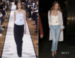 Gigi Hadid In Lanvin - Out In London