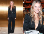 Gwyneth Paltrow In La Perla - La Perla Pre-Fall 2018 Dinner