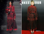 Haley Bennett In Alexander McQueen - 'Darkest Hour'  LA Premiere