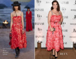 Hayley Atwell In Christian Dior - Harper's Bazaar Women Of The Year Awards 2017